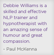 Paul McKenna & Debbie Williams Hypnotherapist Birmingham